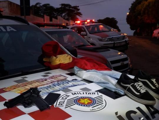 Polícia apreende adolescente por roubo à padaria em Osvaldo Cruz