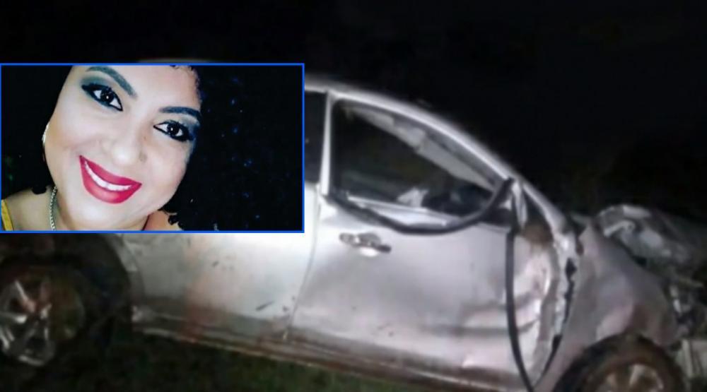 Morre mulher de 36 anos que foi vítima de capotamento na vicinal Adamantina/Mariápolis