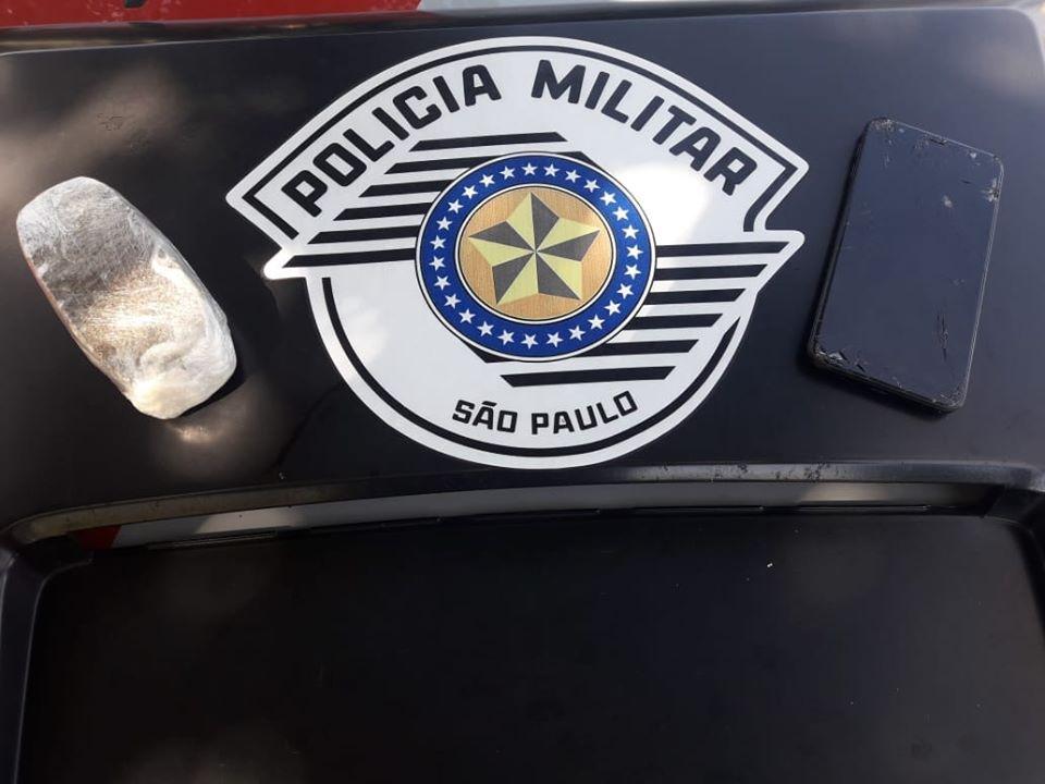 Morador de Parapuã é preso com tijolo de maconha em Osvaldo Cruz