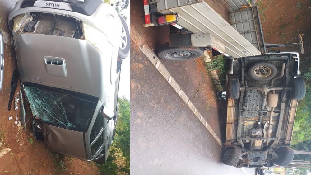 Acidente no trevo de acesso à SP-294 deixa motorista ferido em Parapuã