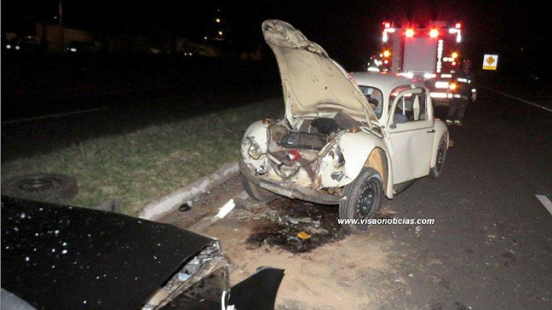 Motorista passal mal e provoca grave acidente na SP-294