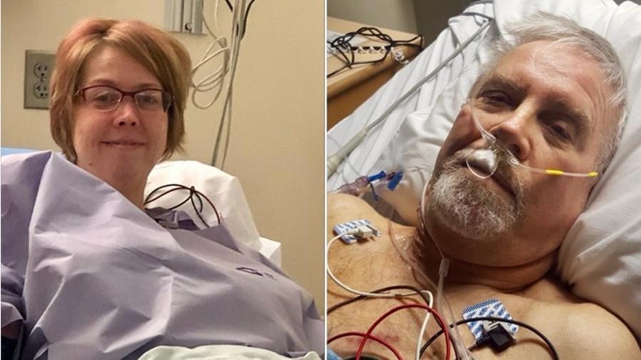 Mãe doa rim para bombeiro que havia socorrido filha dela dois anos atrás