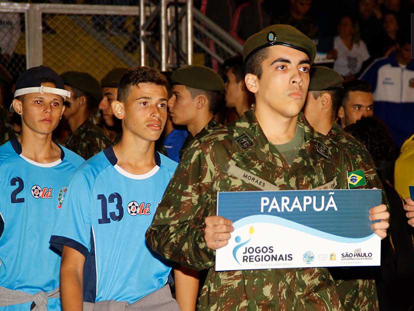 Parapuã participa do 63º Jogos Regionais em Assis